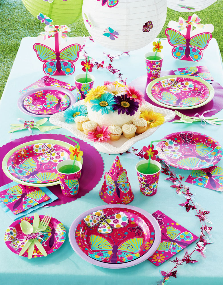 Butterfly Sparkle Party Supplies Singapore